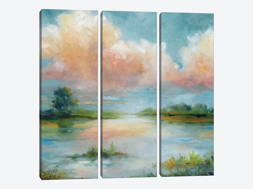 Quiet Spring by Carol Robinson 3-piece Canvas Art