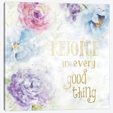 Rejoice Canvas Print #CRO91} by Carol Robinson Art Print