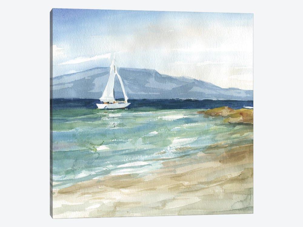 Come Sail Away by Carol Robinson 1-piece Canvas Art Print