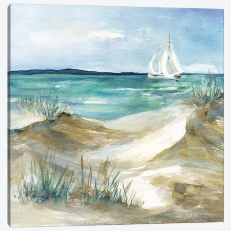 Come Sail Home Canvas Print #CRO923} by Carol Robinson Canvas Art