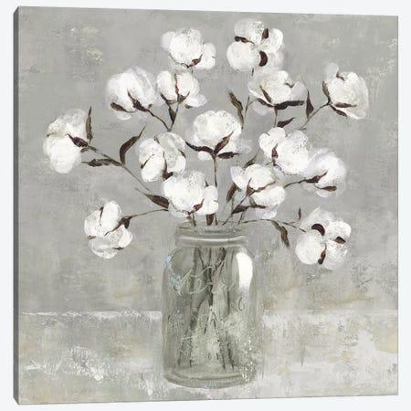 Cotton Bouquet Canvas Print #CRO924} by Carol Robinson Canvas Print