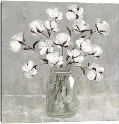 Cotton Bouquet Canvas Art Print