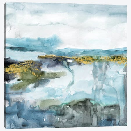 Field of Topaz Canvas Print #CRO927} by Carol Robinson Art Print