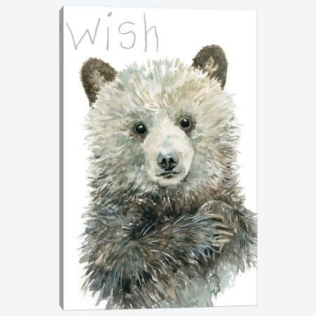 Forest Fur Baby Bear Canvas Print #CRO928} by Carol Robinson Canvas Art