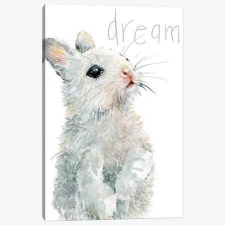 Forest Fur Baby Bunny Canvas Print #CRO929} by Carol Robinson Canvas Art