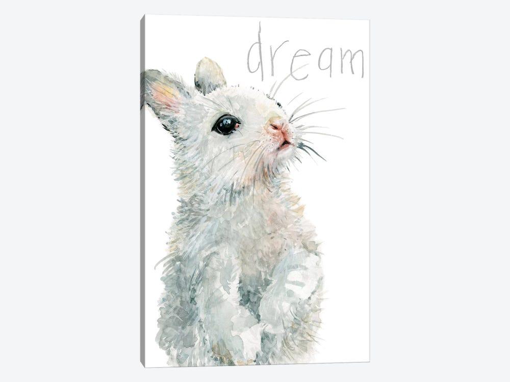 Forest Fur Baby Bunny by Carol Robinson 1-piece Canvas Artwork