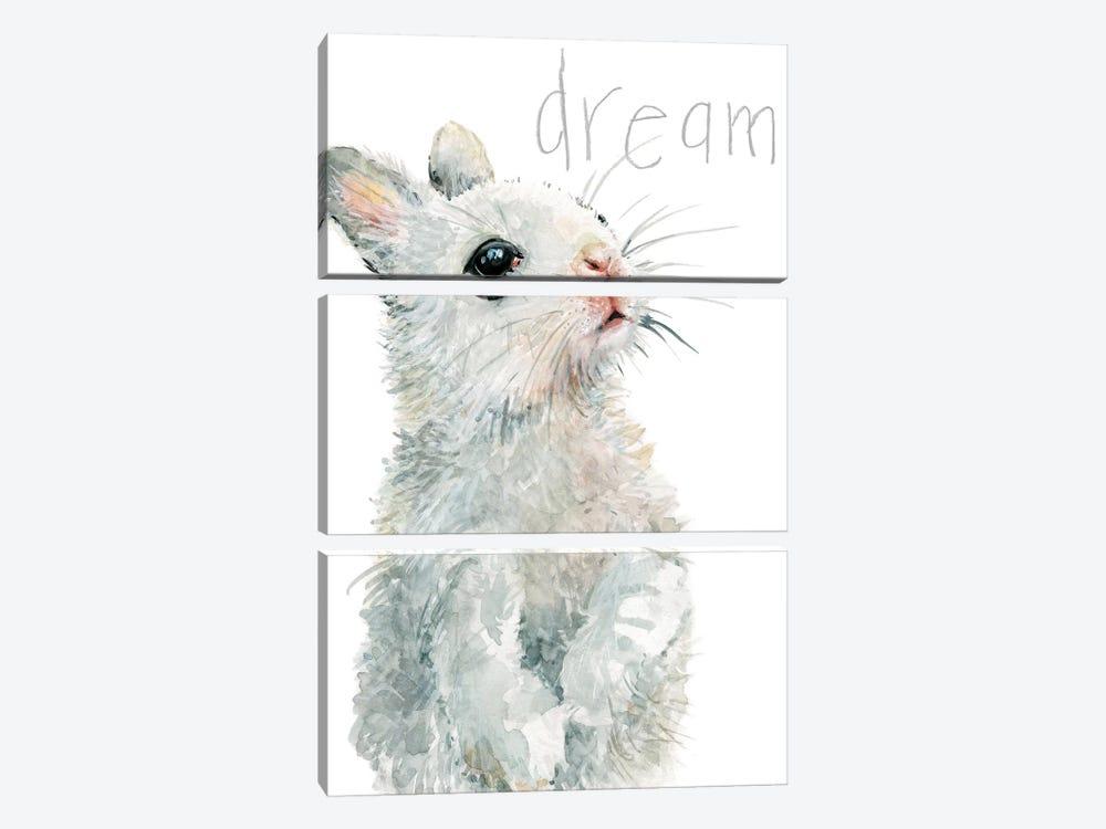 Forest Fur Baby Bunny by Carol Robinson 3-piece Canvas Wall Art