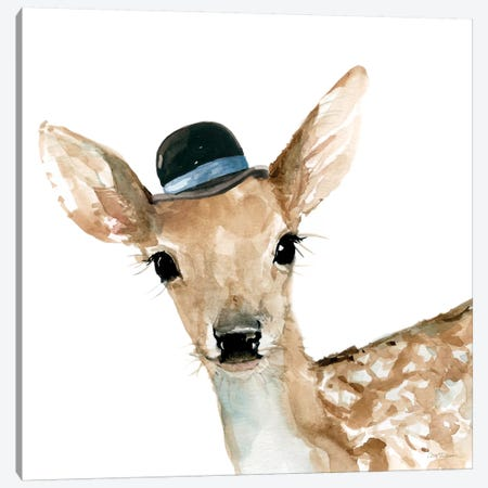 Deer Canvas Print #CRO92} by Carol Robinson Canvas Print