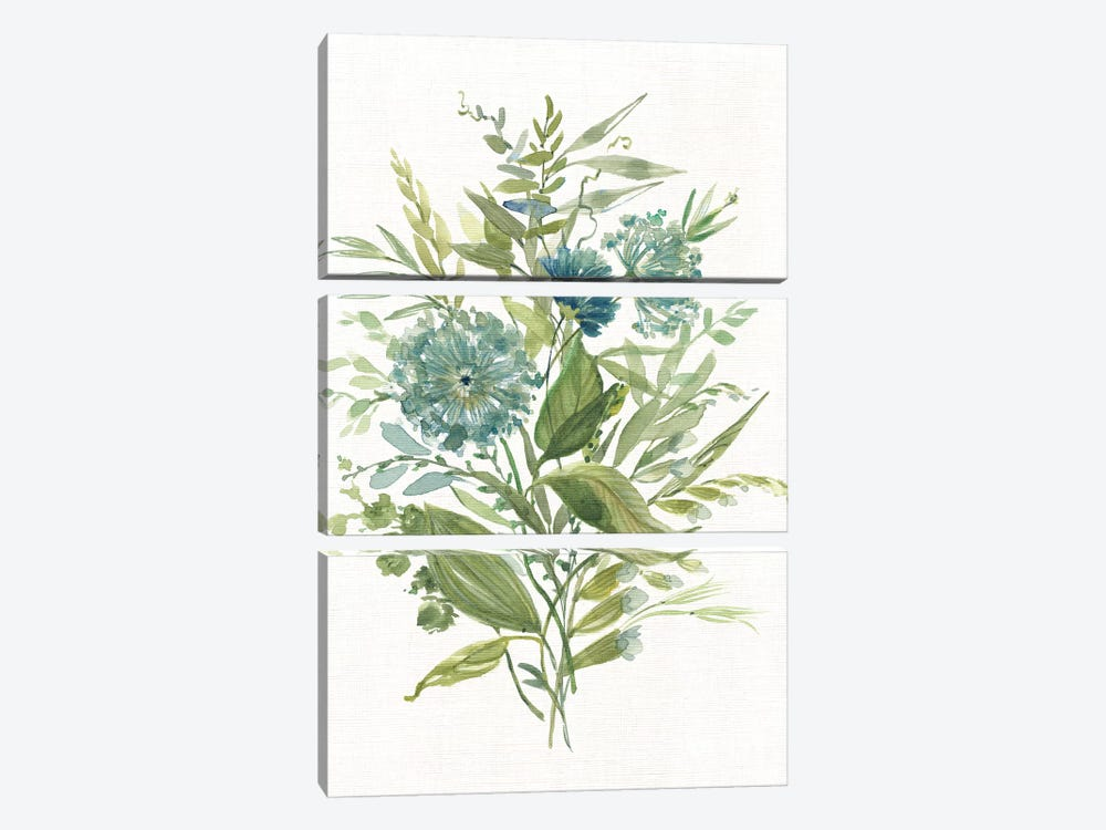 Greenery II by Carol Robinson 3-piece Canvas Wall Art