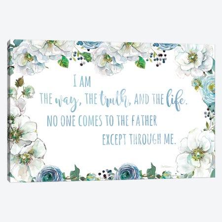 I Am The Way 3-Piece Canvas #CRO939} by Carol Robinson Art Print