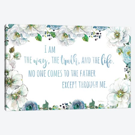 I Am The Way Canvas Print #CRO939} by Carol Robinson Art Print
