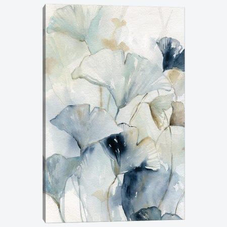 Indigo Gingko I Canvas Print #CRO940} by Carol Robinson Canvas Artwork