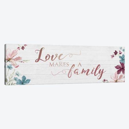 Love Makes a Family Canvas Print #CRO944} by Carol Robinson Canvas Art Print