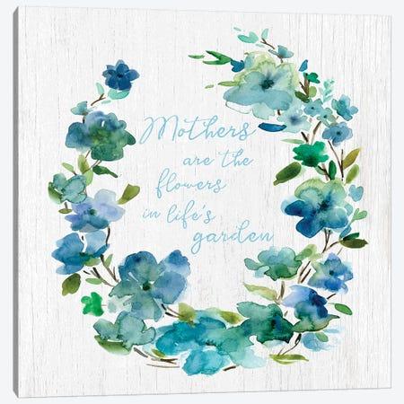 Mother's Life Garden Canvas Print #CRO945} by Carol Robinson Art Print
