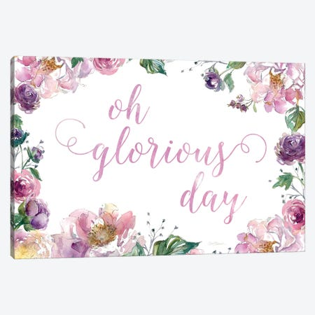 Oh Glorious Day Canvas Print #CRO949} by Carol Robinson Canvas Wall Art