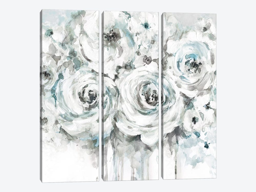 Spring Blues I 3-piece Canvas Print