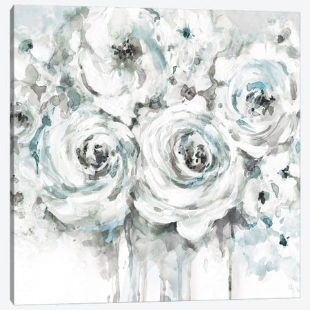 Spring Blues I Canvas Print #CRO953} by Carol Robinson Art Print