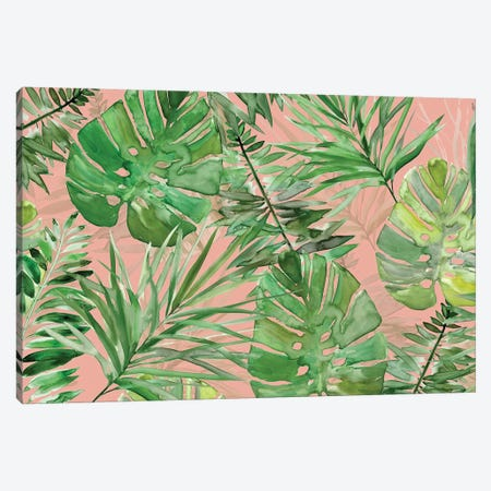 Tropical Sketchbook Coral Canvas Print #CRO962} by Carol Robinson Canvas Art