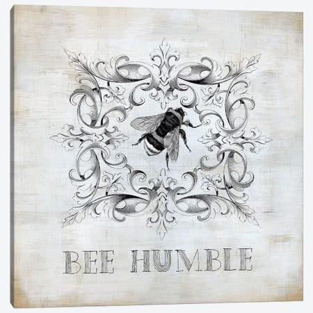 Bee Humble Canvas Print #CRO969} by Carol Robinson Canvas Wall Art