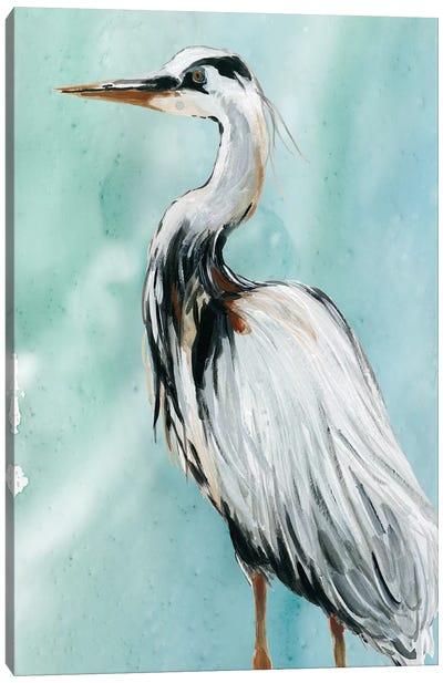 Delray Crane II Canvas Art Print
