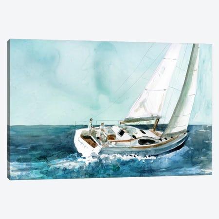 Delray Sail Canvas Print #CRO990} by Carol Robinson Art Print