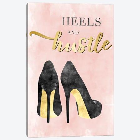 Heels And Hustle Canvas Print #CRP100} by Natalie Carpentieri Canvas Print