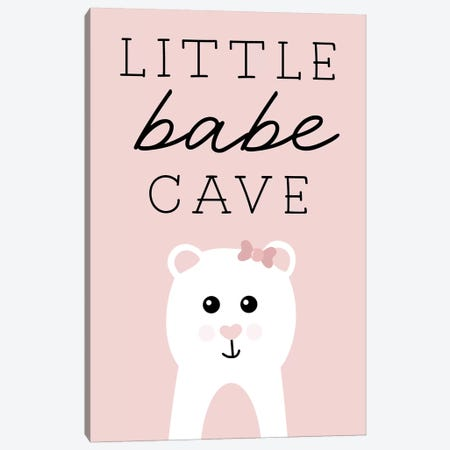 Little Babe Cave Canvas Print #CRP106} by Natalie Carpentieri Canvas Artwork