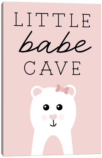 Little Babe Cave Canvas Art Print