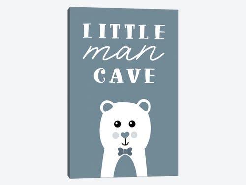 Little Man Cave Art Print By Natalie Carpentieri Icanvas
