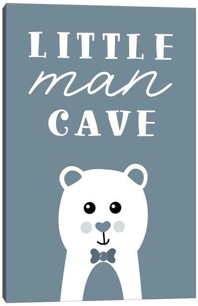 Little Man Cave Canvas Art Print