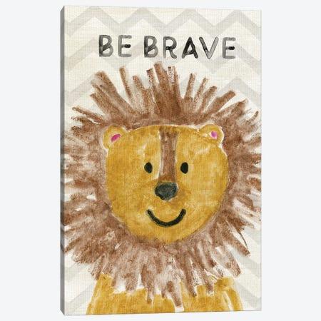 Safari Be Brave Canvas Print #CRP110} by Natalie Carpentieri Canvas Artwork
