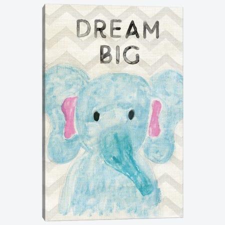 Safari Dream Big Canvas Print #CRP112} by Natalie Carpentieri Canvas Art