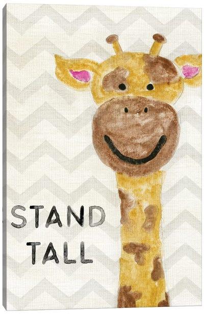 Safari Stand Tall Canvas Art Print