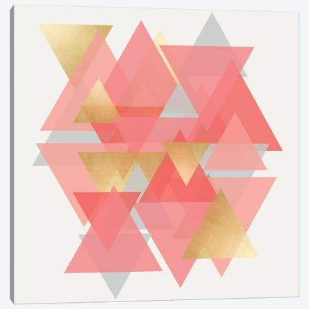 Scandinavian Triangles Canvas Print #CRP11} by Natalie Carpentieri Canvas Artwork