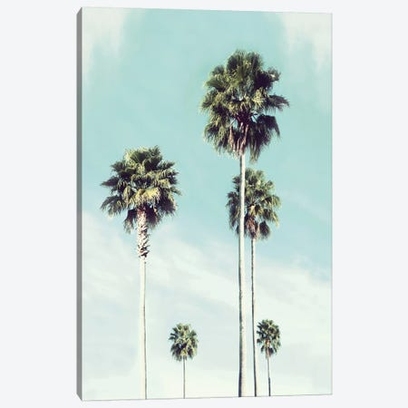 Vintage Palm Canvas Print #CRP121} by Natalie Carpentieri Art Print