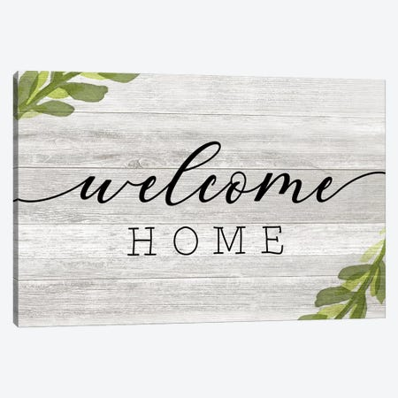 Welcome Home Canvas Print #CRP123} by Natalie Carpentieri Art Print