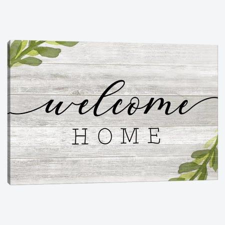 Welcome Home Canvas Print #CRP123} by Natalie Carpentieri Art Print
