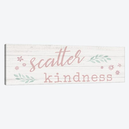 Scatter Kindness Canvas Print #CRP128} by Natalie Carpentieri Canvas Print