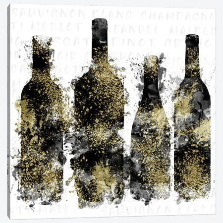 Splash of Wine II Canvas Print #CRP144} by Natalie Carpentieri Canvas Artwork
