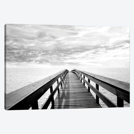 Pier Reflections Canvas Print #CRP148} by Natalie Carpentieri Canvas Print