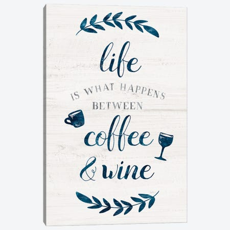 Between Coffee and Wine Canvas Print #CRP152} by Natalie Carpentieri Canvas Artwork