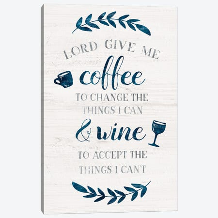 Coffee & Wine Canvas Print #CRP153} by Natalie Carpentieri Canvas Artwork