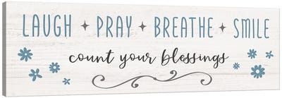 Count Your Blessings Canvas Art Print