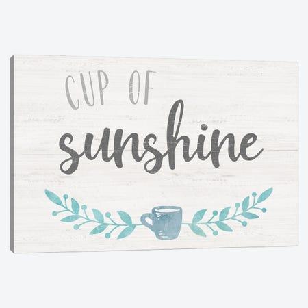 Cup of Sunshine Canvas Print #CRP155} by Natalie Carpentieri Canvas Art Print