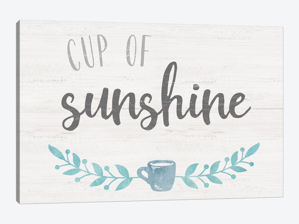 Cup of Sunshine by Natalie Carpentieri 1-piece Art Print