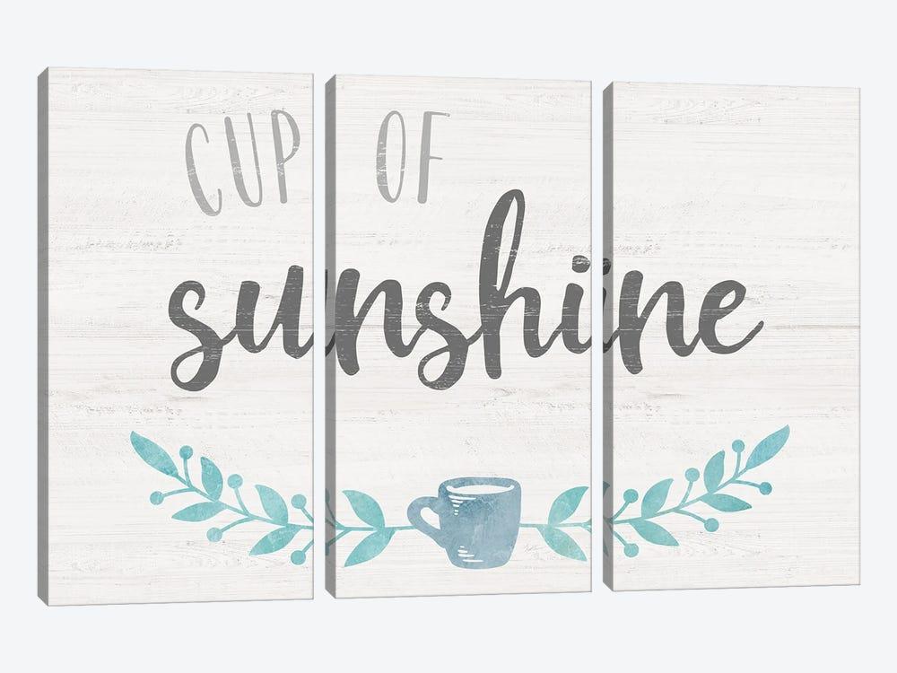 Cup of Sunshine by Natalie Carpentieri 3-piece Art Print