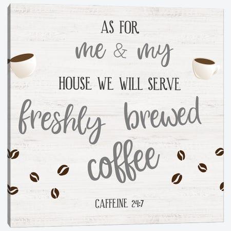 Freshly Brewed Coffee Canvas Print #CRP163} by Natalie Carpentieri Art Print