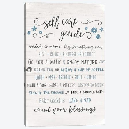 Guide to Self Care Canvas Print #CRP165} by Natalie Carpentieri Canvas Artwork