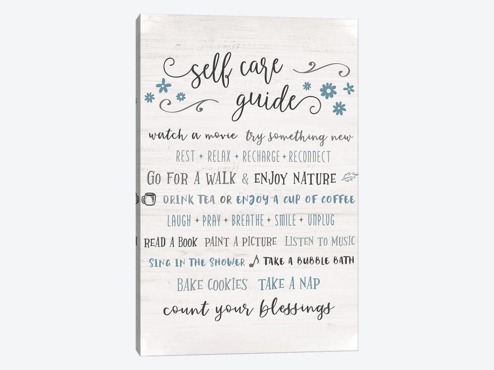 Guide to Self Care by Natalie Carpentieri 1-piece Canvas Artwork