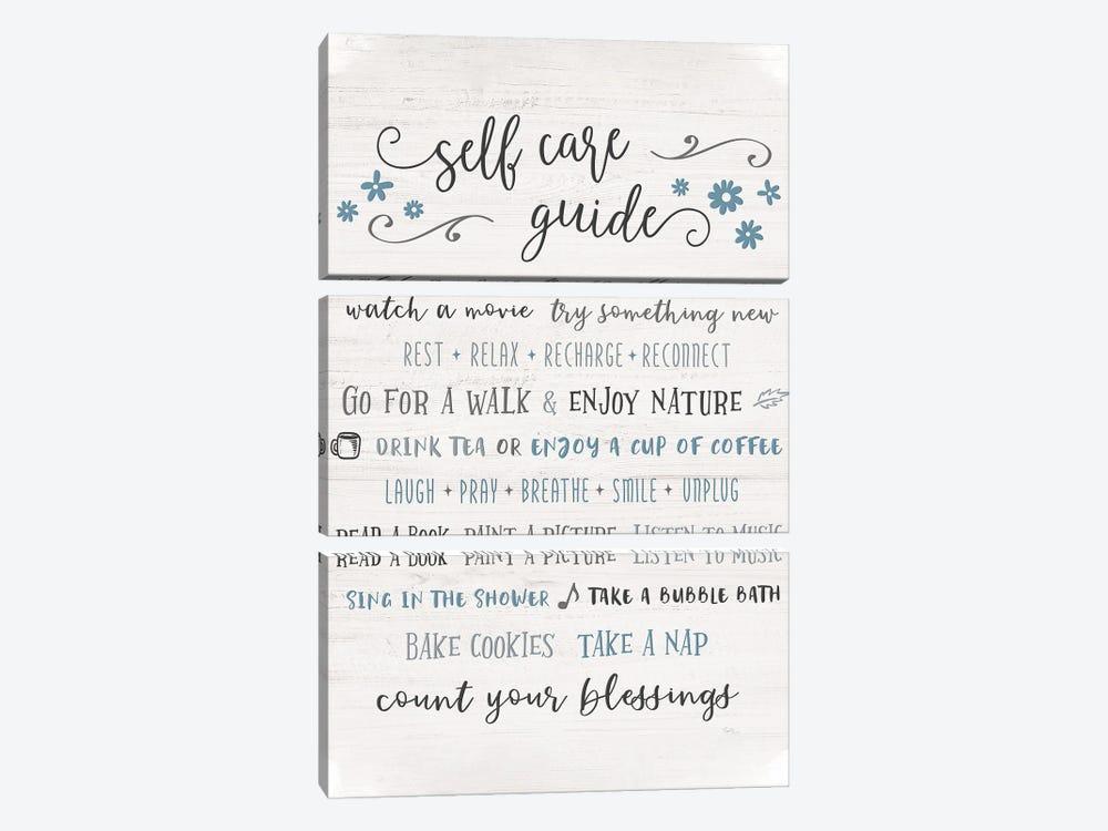 Guide to Self Care by Natalie Carpentieri 3-piece Canvas Artwork